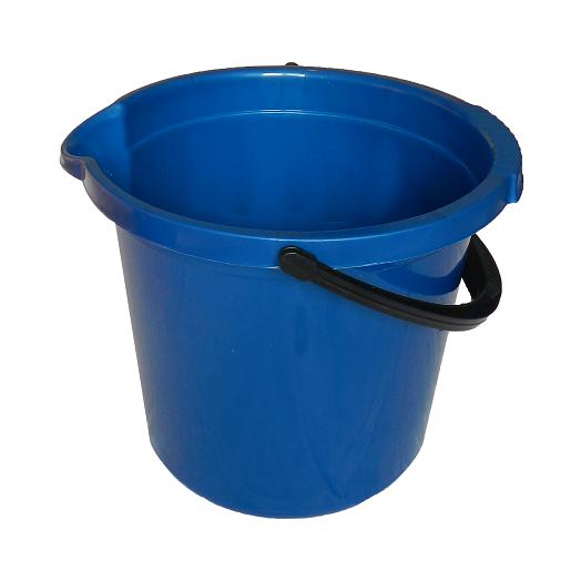 Ведро 14л синее (р/чёрная)