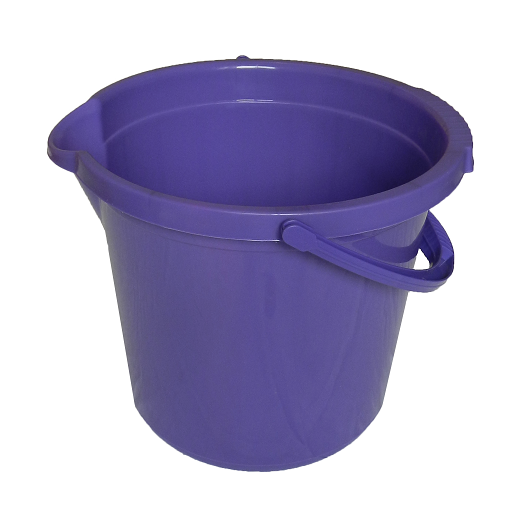 Ведро 10л фиолетовое
